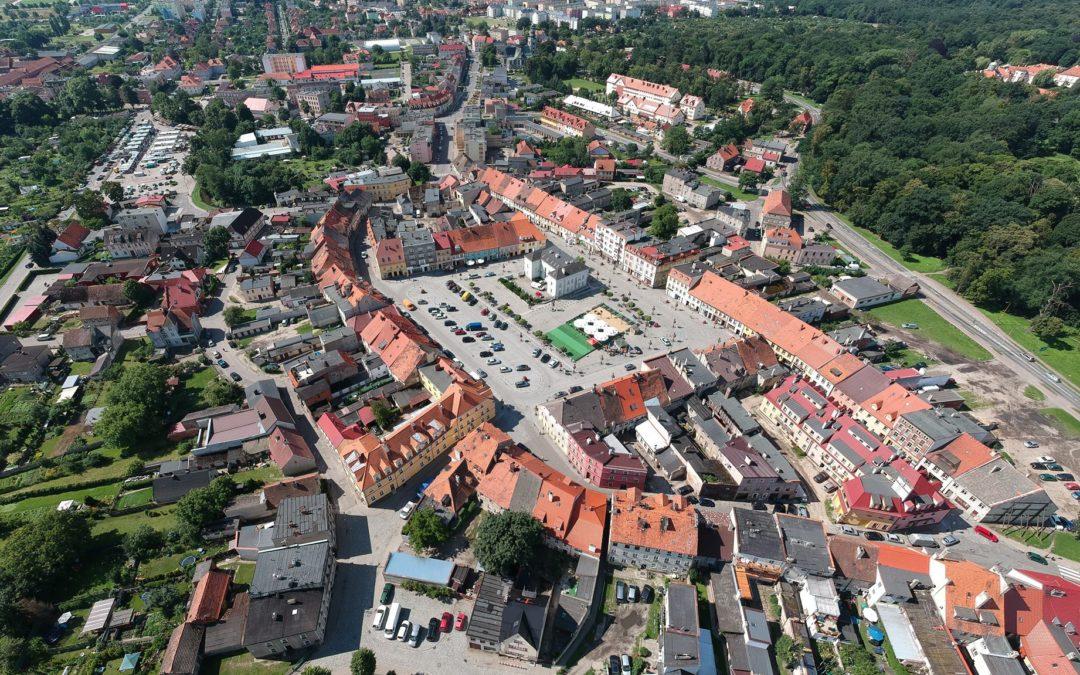 Otwarty konkurs na opracowanie koncepcji zagospodarowania terenu przestrzeni publicznej dla zadania MILICKI RYNEK JAKO BEZPIECZNE CENTRUM SPOŁECZNO-GOSPODARCZE